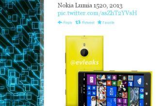 Lumia 1520 rumour evleaks twitter juuchini