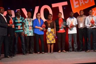 Online Hisab, ASim Mobile, Sendy, SokoText, Ubongo Kids and ChamaSoft Are Pivot East 2014 Winners JUUCHINI