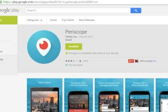 Periscope Now Available On Android JUUCHINI