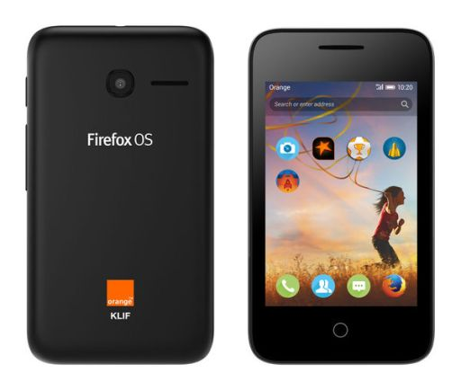 Mozilla Firefox OS Orange Klif 3G 40 Dollar Smartphone Volcano Black Colour JUUCHINI