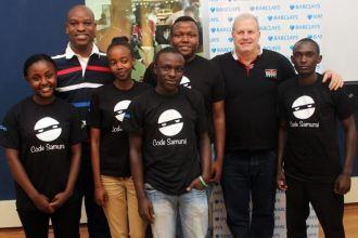 Barclays Rise Africa Hubs Cape Town JUUCHINI
