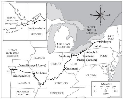 Lamanite Mission map