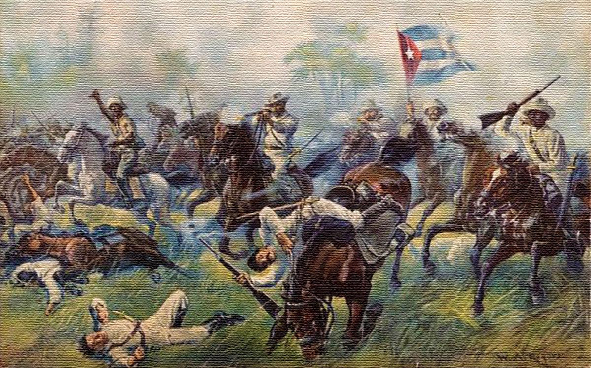 Resultado de imagen de 1868 - Inicio de las Guerras de Independencia