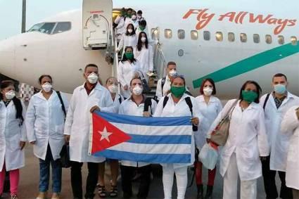 Cuba ha enviado brigadas sanitarias para combatir la COVID-19 en varios países de la región.