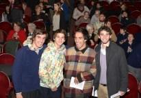 Los chicos en la ópera