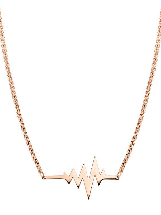 Liebeskind Ankerkette Schmuck Halskette Accessoires Edelstahl 45cm edelstahl