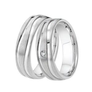 DOOSTI Partnerring TWO WAYS 925/- Silber