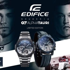 Casio Edifice F1 horloges