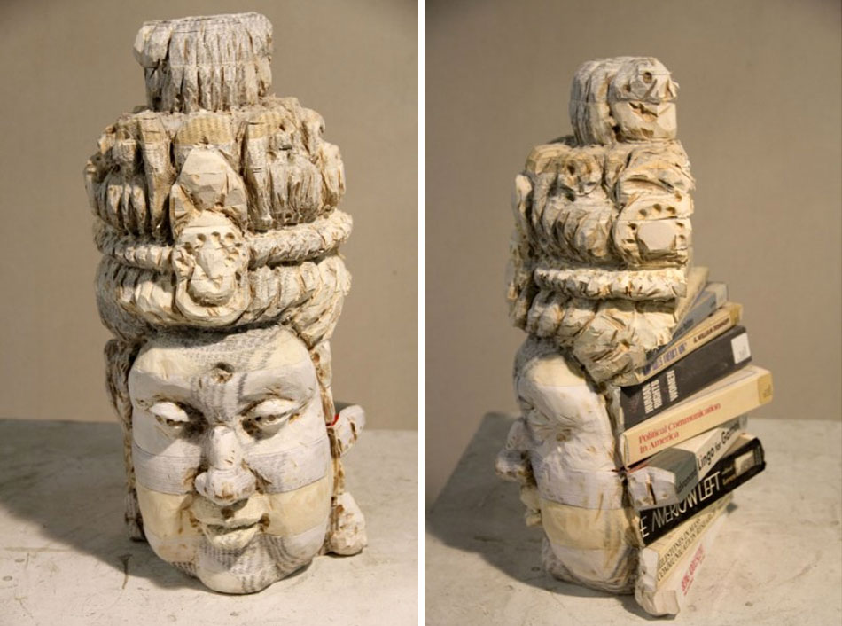 Recycled Book Sculptures by Long-Bin Chen: gallery1.jpg