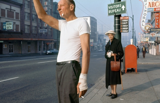 Juxtapoz Magazine - Fred Herzog, a Pioneer of Color Photography, Dies at 88