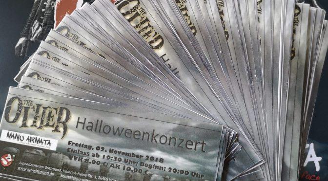Kartenvorverkauf für das Halloweenkonzert – So geht es!