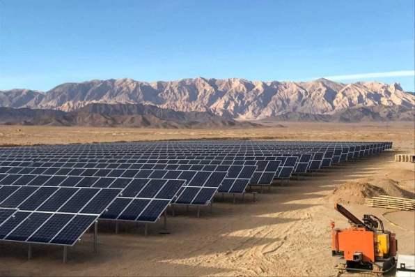 solar modules production line