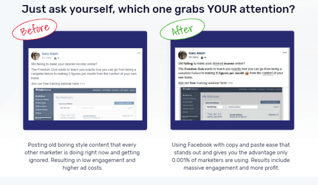 SociJam Facebook Post Software by Cindy Donovan
