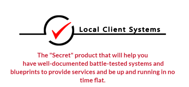 Local Client Systems WSO Blueprint by Jeanne Kolenda