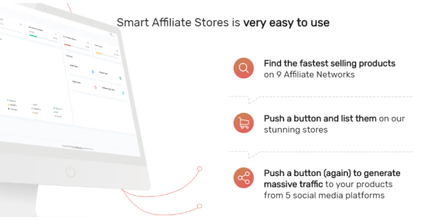 SmartAffiliateStores PRO Affiliate Software by Dan Ashendorf