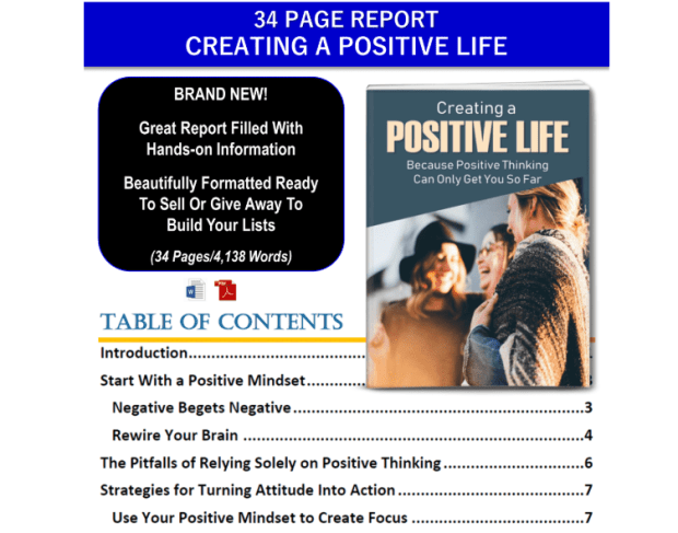 Life Strategies: Designing Your Greatest Life PLR Pack by JR Lang