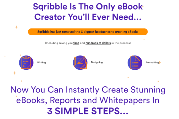 Sqribble Commercial eBook Creator by Adeel Chowdhry
