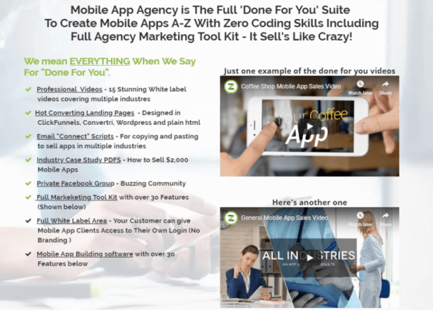 Mobile App Agency PRO Software by Andrew Fox