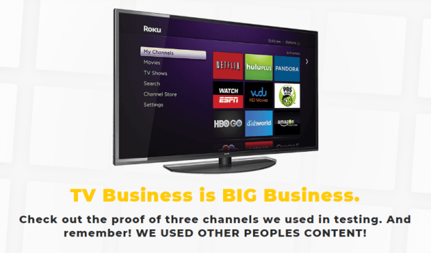 TV Boss Roku Software by Craig Crawford