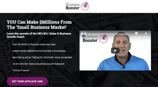 Business Booster Academy System by Ben Kench