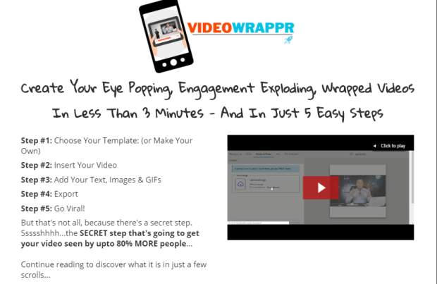 VideoWrappr Pro Video Software by Simon Warner
