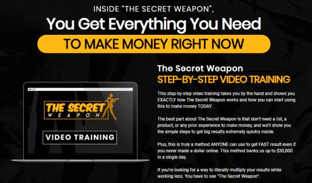 The Secret Weapon WSO Training Course by Brendan Mace