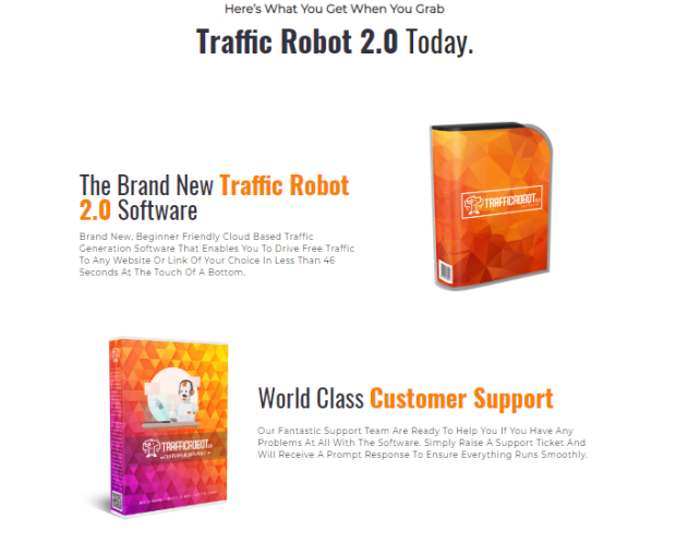 Traffic Robot 2.0 Pro Software & OTO by Billy Darr