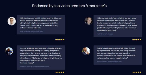 Create by Vidello Video Creator by Sam Bakker