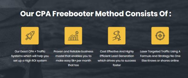 CPA Freebooter Training System & OTO by Demetris Dpapa