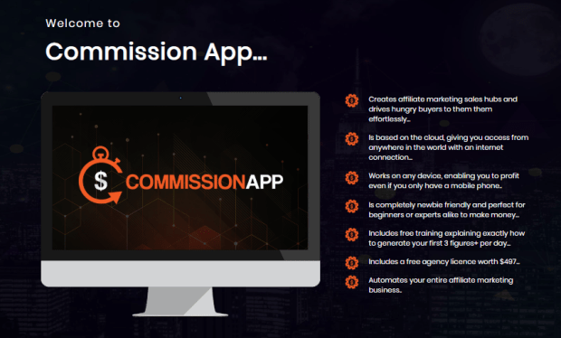 Commission App Pro Software by Billy Darr