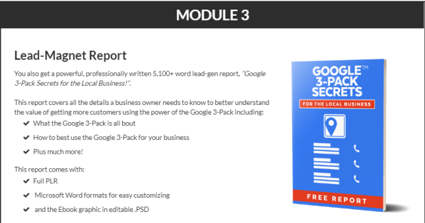 Google 3-Pack Secrets PLR Bundle WSO by PDLaughlin