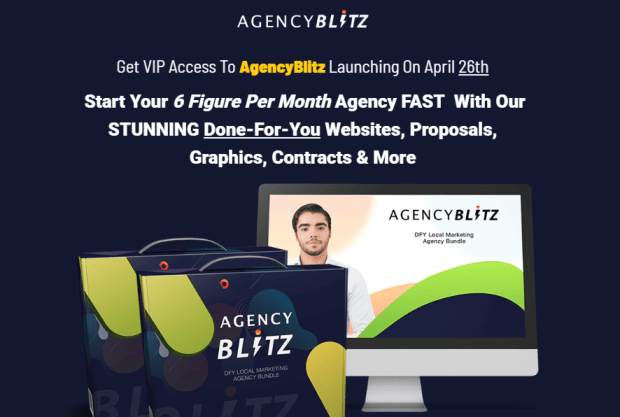 AgencyBlitz Pro DFY Kits Bundle by Mario Brown