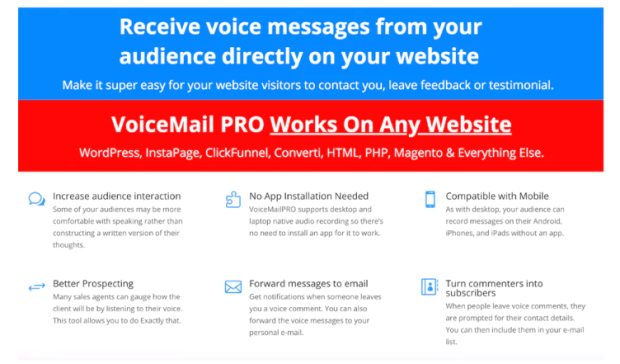VoiceMail Pro Software System & OTO by Ankur Shukla