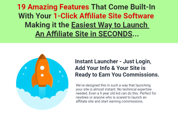 1-Click Affiliate Site Software Training by Ankur Shukla
