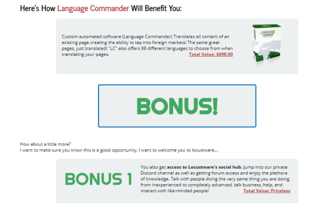 Language Commander WSO Software by Cliff Carrigan