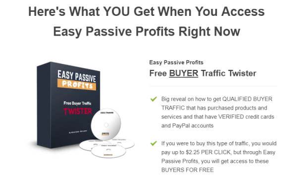 Easy Passive Profits WSO System by Michel Sirois