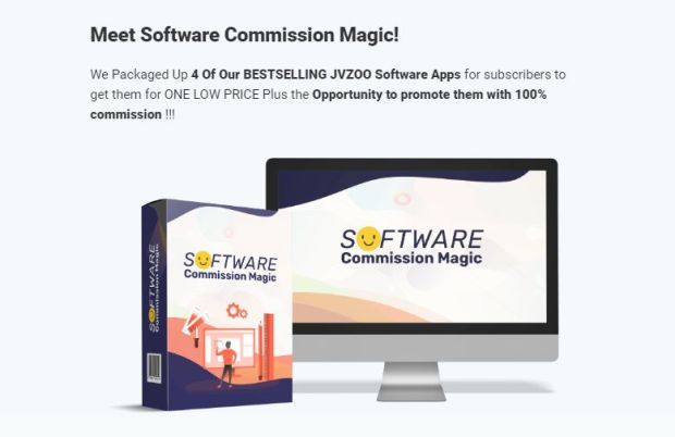 Software Commission Magic Bundle OTO