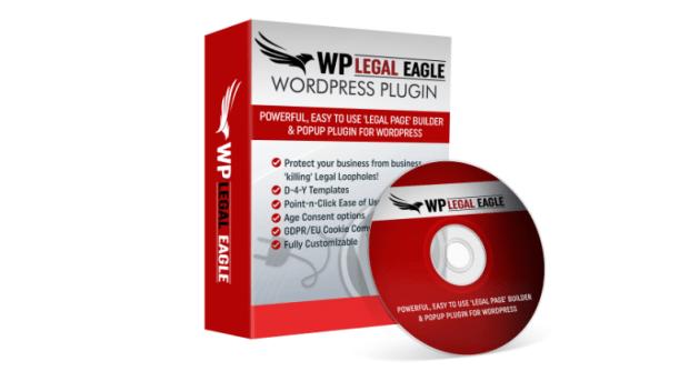 WP Legal Eagle Plugin & OTO Upsell by Sherman Fredericksen