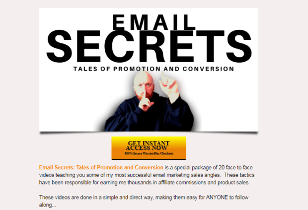 Email Secrets System & OTO Upsell by Kam Fatz