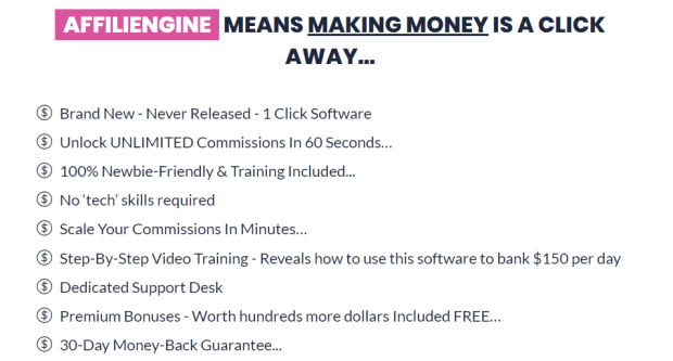 AffiliEngine Software & OTO Upsell by Kevin Byrne
