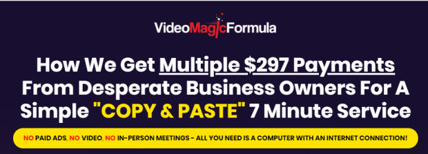 Video Magic Formula & OTO by Art Flair