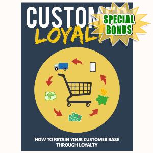 Special Bonuses - July 2015 - Customer Loyalty