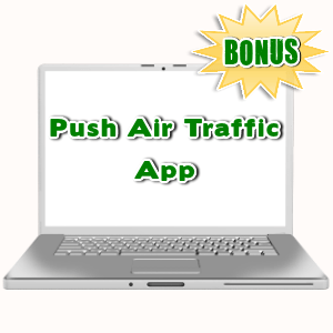Video Studio Bonuses  - Push Air Traffic App