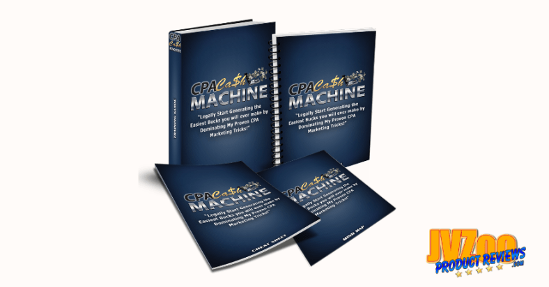 CPA Cash Machine Biz In A Box Review and Bonuses - Cover
