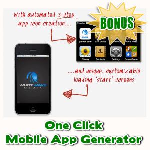 Video Skins Bonuses  - One Click Mobile App Generator