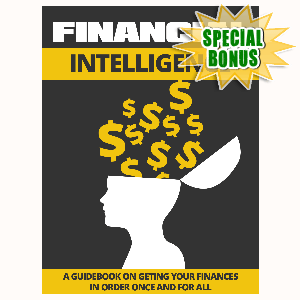 Special Bonuses - August 2015 - Financial Intelligence
