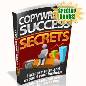 Special Bonuses - August 2015 - Copywriting Success Secrets Pack