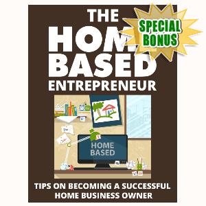 Special Bonuses - September 2015 - The Home Based Entrepreneur