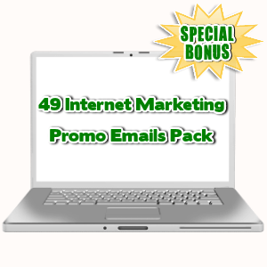 Special Bonuses - September 2015 - 49 Internet Marketing Promo Emails Pack