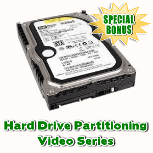 Special Bonuses - September 2015 - Hard Drive Partitioning Video Series